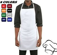 6 spun poly craft commercial chef supply kitchen bib aprons high quality