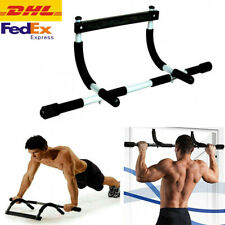Doorway Pull Up Bar Chin Body Strength Exercise Door Mounted Workout Arm