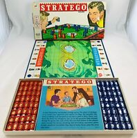 1961 Stratego Game by Milton Bradley Complete in Very Good Cond FREE SHIPPING