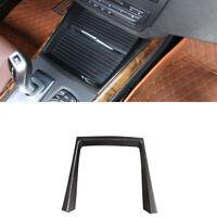Carbon Look ABS Mittelkonsole Wasser Becherhalter Rahmen Für BMW X5 E70 08-13