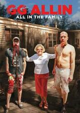 GG ALLIN: ALL IN THE FAMILY USED - VERY GOOD DVD