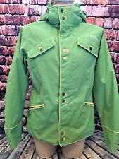 Burton Ski Snowboarding Jacket Winter Coat Green Size Women's Medium GUC
