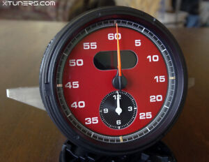 Porsche Panamera, Cayenne, 911 Chrono dials RED
