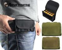 Taktische 10 Runde 12 Gauge Belt Shotgun Shell Ammo Pouch Gürteltasche Inhaber