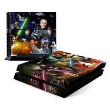 Skin Decal Cover Sticker for Sony PlayStation 4 PS4 - Star Wars