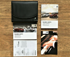 BMW 1 SERIES E82//E88 COUPE CABRIO HANDBOOK OWNERS MANUAL WALLET 2011-2013 L-429