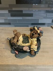 Boyds Bears & Friends 1999 Ima Chillin-Takin It Easy The Bearstone Collection