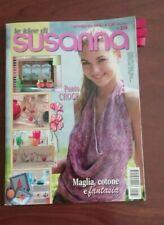 LE IDEE DI SUSANNA LUGLIO/AGOSTO 2009 PUNTO CROCE MAGLIA ECC.