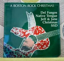 A Boston Rock Christmas [Vinyl LP,1983] USA Import BR-001 SSD*Native Tongue *NEW