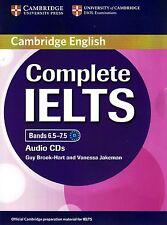 Cambridge English COMPLETE IELTS Bands 6.5-7.5 CLASS AUDIO CDs I Brook-Hart @New