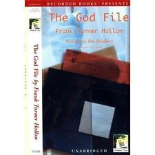 BOOK/AUDIOBOOK CD Frank Turner Hollon THE GOD FILE