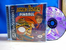 Playstation PS1 Austin Powers Pinball Complete