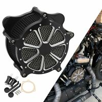 Contrast Cut Air Cleaner Intake Filter For Harley Dyna Softail Touring Road King