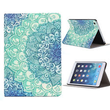 Hot Sell Floral Pattern Flip Stand Leather Case Cover For iPad Mini 1 2 3 Retina