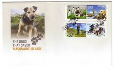 "2015 FDC AAT. The Dogs that Saved Macquarie Island. ""Dog"" Pict.FDI ""KINGSTON"""