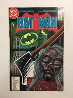 BATMAN #399 1986 DC COMICS Catwoman DECAPITATED SHRUNKEN HEAD COVER Mandrake