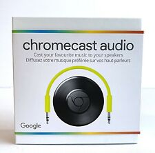 Google Chromecast Audio Media Streamer - New Sealed