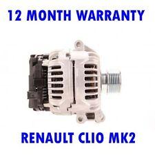 RENAULT CLIO MK2 MK II 1.4 1.6 1998 1999 2000 2001 2002 - 2015 ALTERNATOR