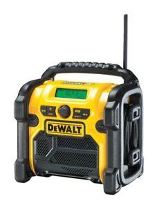 DeWalt DCR020 240v XR Li-ion DAB/FM Compact Radio Bare Unit