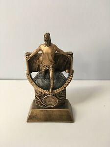 Football Female Player Award/Trophy - 170mm. Free Engraving