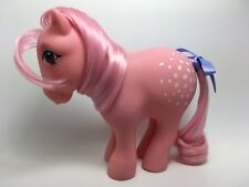 Vintage MLP G-1 Hasbro My Little Pony ~ COTTON CANDY ~ Concave Feet ~ LOVELY!