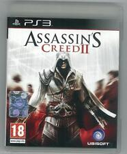 Assassin's Creed II 2 Ps3 Perfetta 1a Edizione Italiana Con Manuale