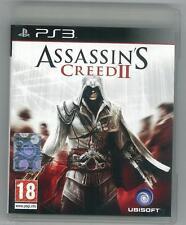 Assassin's Creed II 2 Ps3 Perfetta 1a Edizione Italiana Con Manuale