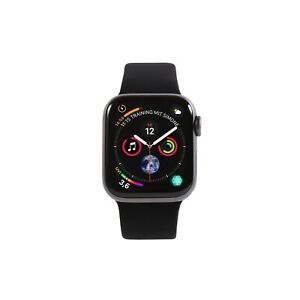Apple Watch Series 4 Aluminium 44 mm / GPS / Mwst. Ausweis / Deutlich gebraucht