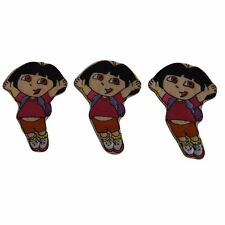 Nickelodeon's Dora The Explorer Embroidered Patch Set of 3