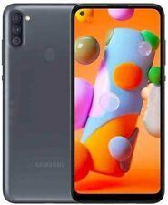 Desbloqueado Samsung Galaxy A11 SM-A115U 32GB AT&T GSM Teléfono mundial Sim único Negro