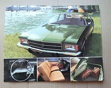 Opel Rekord II Coupe, L Sheet Original 192