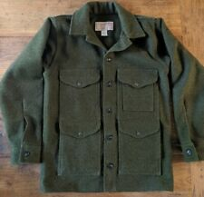 Filson Mackinaw 24oz Wool Cruiser Hunting Jacket  Forest Green Size 36 Style 110