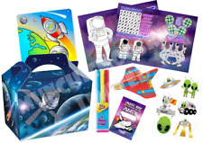 Pre Filled Space Party Box - Alien Solar System Parties Activity Gift Bags