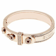 Modeschmuck-Armbänder aus Rosegold mit Kristall für Damen
