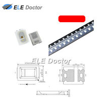 100PCS SMD SMT 2835 LED Diodes Red Light 0.8 thickness PLCC-2 High Quality