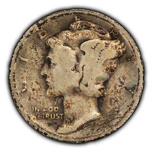 1921 10c Mercury Silver Dime - Key Date - SKU-Z2519