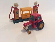 Massey Ferguson Super King 165 Farm Tractor Matchbox K-3 Vintage Loose Rare G/C