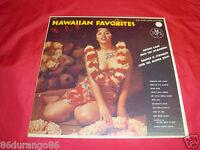 "HAWAIIAN FAVORITES AKONI LANI DANNY K STEWART 12"" VINYL RECORD"