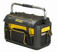 "Stanley 20"" FatMax Plastic Fabric Tote Cover Tool Box Case DIY Storage Strong"
