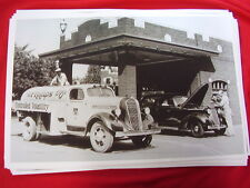1937 STUDEBAKER TANKER TRUCK PHILLIPS 66 GAS  BIG   11 X 17 PHOTO PICTURE