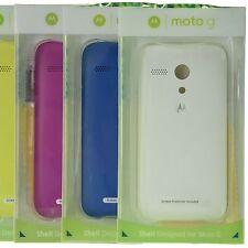 Genuine Motorola Moto G Hard Snap On Back Rear Cover Shell Case