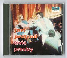 RARE CD ★ ELVIS PRESLEY - JUST PRETEND ★ FORT BAXTER 2091