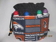 Bingo Bag/Tote Bag  Denver  Bronco  - Gift Graduation Cloth Handmade