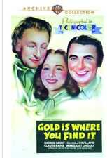 Gold Is Where You Find It NEW DVD