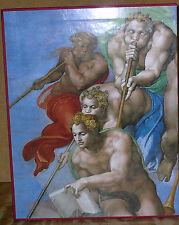 The Last Judgement-The Vatican Museums-2 Vol. Set-Restoration & Plates-