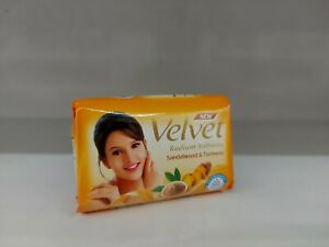New Velvet Sandalwood & Tumeric Radiant Softness Body Soap (Free Shipping)