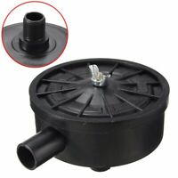Air Compressor 20mm Male Thread Plastic Housing Canister Filter Silencer Black