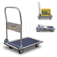Plattformwagen 150 kg Transportwagen Handwagen Transportkarre Sackkarre SN150A