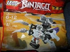 LEGO 30081 Skeleton Chopper polybag MISB Sealed Buy 6=Free Shipping!