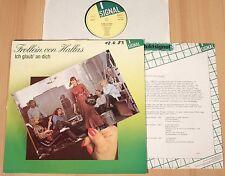 FROLLEIN VON HALLAS - Ich glaub an dich (SIGNAL 1983 + PROMO / HARDROCK / LP m-)